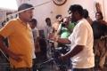 Shankar, Anal Arasu @ I Movie Shooting Spot Stills