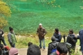 PC Sriram, Shankar @ I Movie Shooting Spot Stills