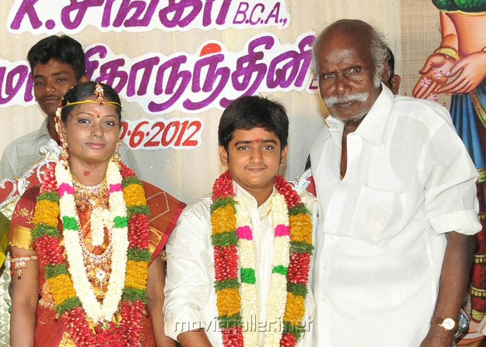 Periya Karuppu Thevar at Comedy Actor Shankar Wedding Photos