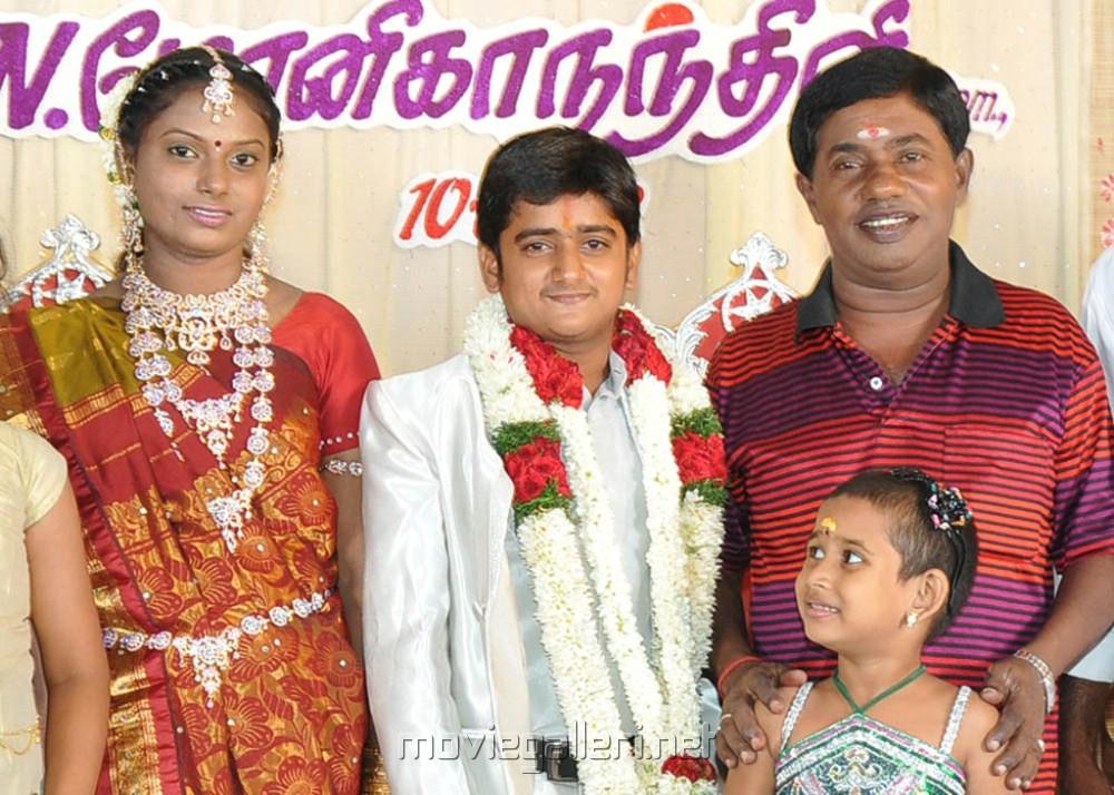 Picture 249230 | Ponda Mani at Comedy Actor Shankar Monika ... Vadivelu Daughter Kavya Marriage