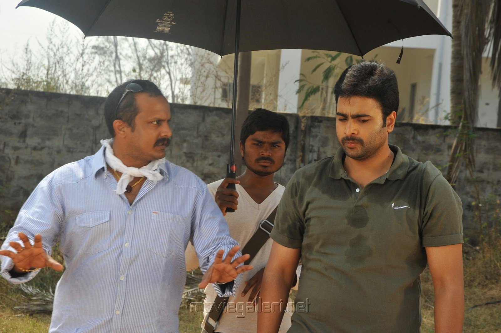 Tatineni Satya Prakash, Nara Rohit in Shankara Movie Working Photos