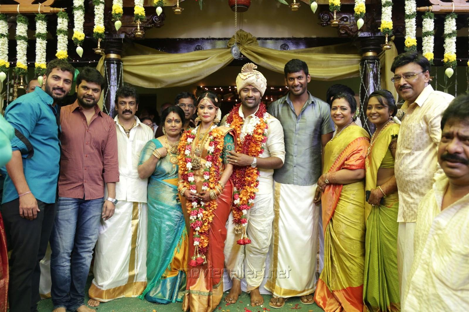 Picture 920398 Actor Vishal Shanthanu Keerthi Marriage