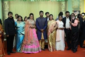 Gangai Amaran @ Shanthanu Keerthi Wedding Reception Stills