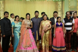 Vaiyapuri @ Shanthanu Keerthi Wedding Reception Stills