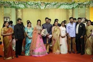 Prasanna @ Shanthanu Keerthi Wedding Reception Stills