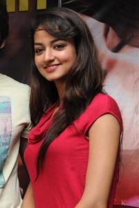 Actress Shanvi Hot Stills at Adda Movie Success Meet