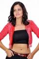 Telugu Actress Shanvi Hot Photoshoot Pics in Red Dress