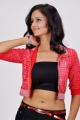 Actress Shanvi Hot in Red Dress Photoshoot Pics