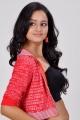 Actress Shanvi Hot Photo Shoot Pics in Red Dress