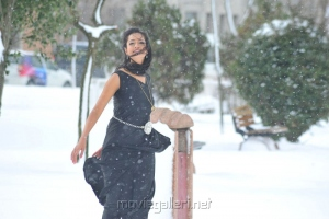 Actress Shanvi Latest Images in Black Dress