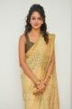 Actress Shanvi Srivastava in Golden Color Saree Photos