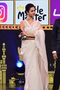 Actress Shanvi Srivastava Saree Pics @ SIIMA Awards 2021