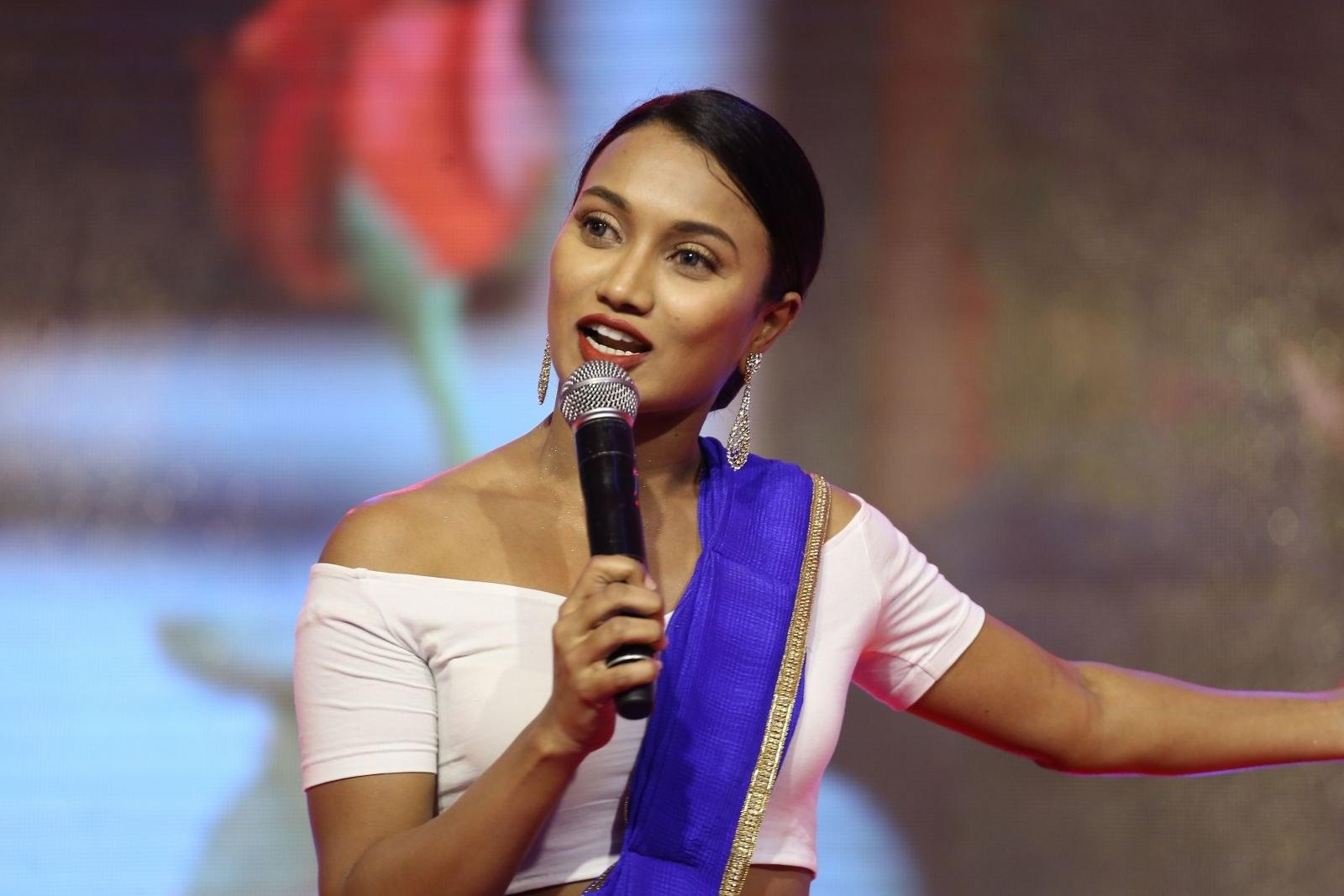 Anchor Sharmila Kasala Stills @ Darsakudu Audio Release