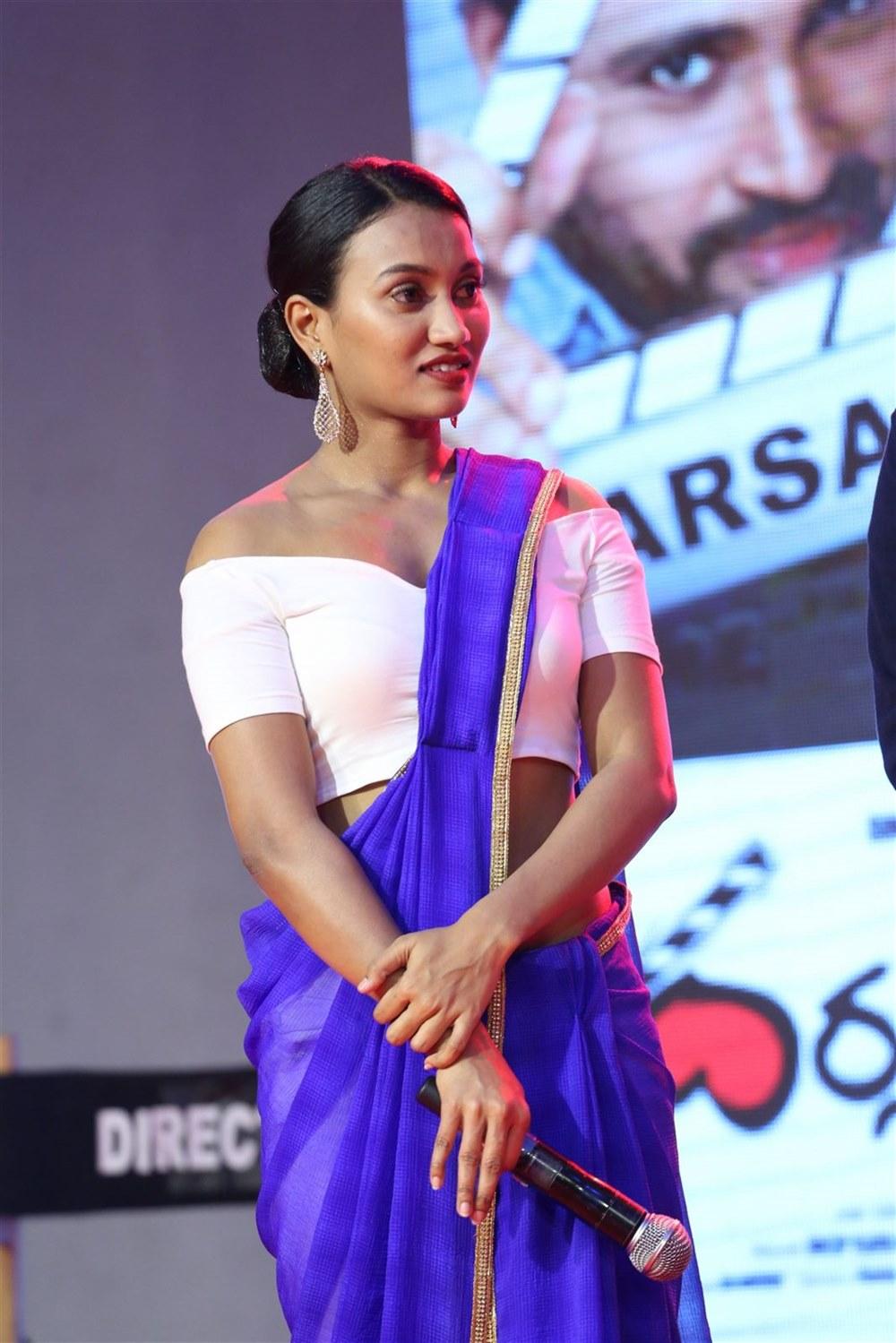 Anchor Sharmila Kasala Stills @ Darsakudu Movie Audio Release