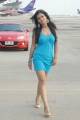 Actress Sharmila Mandre Hot Pictures in Blue Skirt