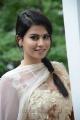 Actress Sharmila Mandre in White Churidar Cute Stills