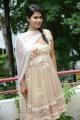 Telugu Actress Sharmila Mandre New Stills in White Dress