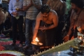 Sharwanand Conduct Ayyappa Swamy Pooja At Film Nagar Temple Photos