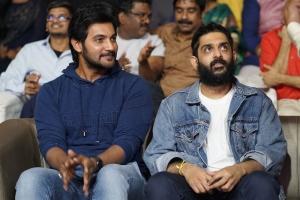 Aadi, Sid Sriram @ Shashi Movie Pre Release Event Stills