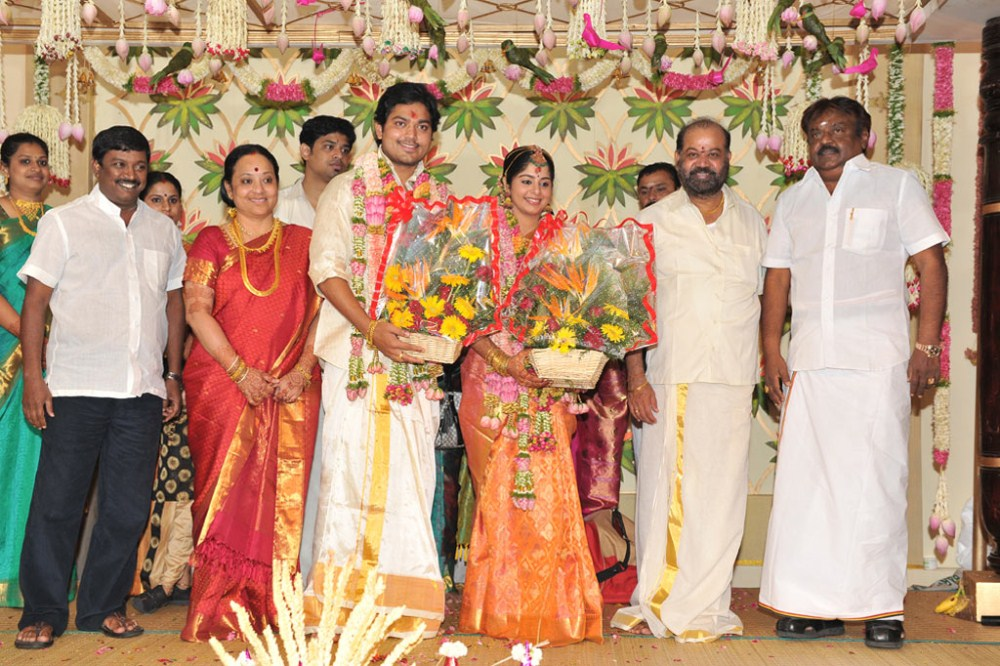 picture 89174 vijayakanth sakthi smrithi wedding