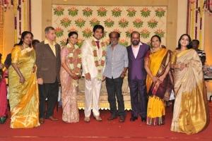 Rajini @ Sakthi Smrithi Wedding Reception Stills