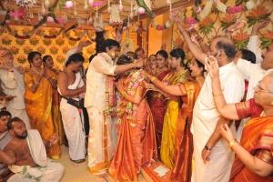 Sakthi Smrithi marriage Stills