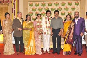 Vijay @ Sakthii Smrithi Wedding Reception Stills