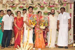 Vijayakanth @ Sakthi Smrithi Wedding Reception Stills