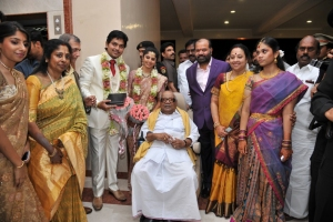 M.Karunanidhi @ Sakthii Smrithi Wedding Reception Stills