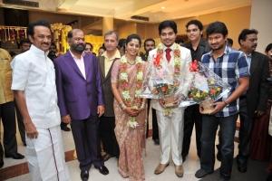 MK.Stali, Udhayanidhi @ Sakthi Smrithi Wedding Reception Stills