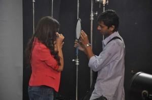 Shazahn Padamsee at Madame Shoot in Filmistan, Mumbai on 20th July 2013