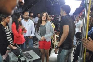 Actress Shazahn Padamsee at Madame Shoot Stills