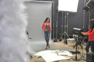 Shazahn Padamsee Snapped At The Autumn Collection Shoot Of Madame