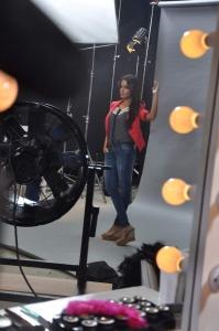 Actress Shazahn Padamsee shoots for Madame Stills