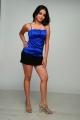 Sheena Shahabadi Hot in Blue Dress