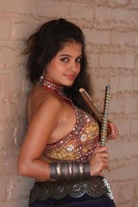 Hot Actress Sheena Shahabadi Navratri Photoshoot Gallery