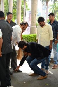 Mohan Babu, Vinnu Maddipati @ Shekaram Gari Abbayi Movie First Look Launch Stills