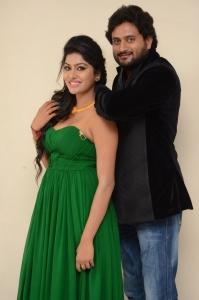 Sai Akshatha, Vinnu Maddipati @ Shekaram Gari Abbai Movie First Look Launch Stills