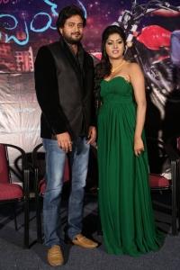 Vinnu Maddipati, Sai Akshatha @ Shekaram Gari Abbai Movie First Look Launch Stills