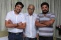 Shiva, K.Balachandar & Director Badri in Thillu Mullu 2012 Movie