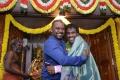Raghava Lawrence, Nikiil Murugan @ Shivalinga Movie Pooja Stills