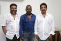 P Vasu, Raghava Lawrence, Ravindran @ Shivalinga Movie Pooja Stills
