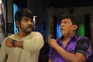 Raghava Lawrence, Vedivelu in Shivalinga Movie Stills