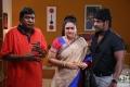 Vadivelu, Urvashi, Raghava Lawrence in Shivalinga Movie Stills