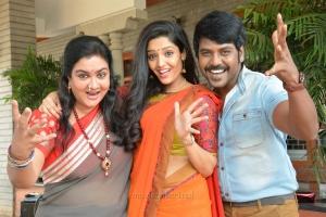 Urvashi, Ritika Singh, Raghava Lawrence in Shivalinga Movie Stills