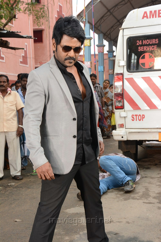 Actor Raghava Lawrence in Sivalinga Movie Stills