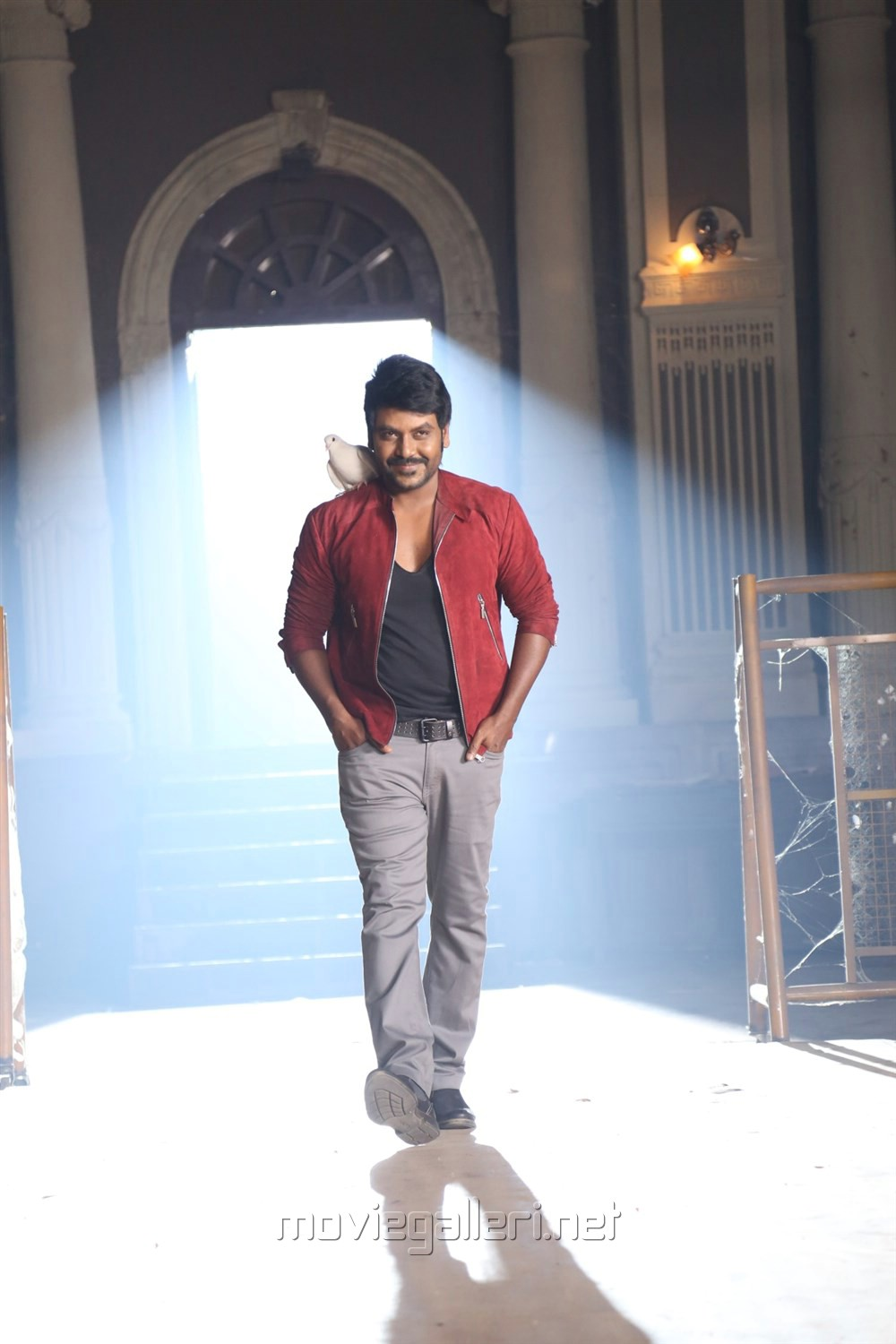 Actor Raghava Lawrence in Shivalinga Movie Stills