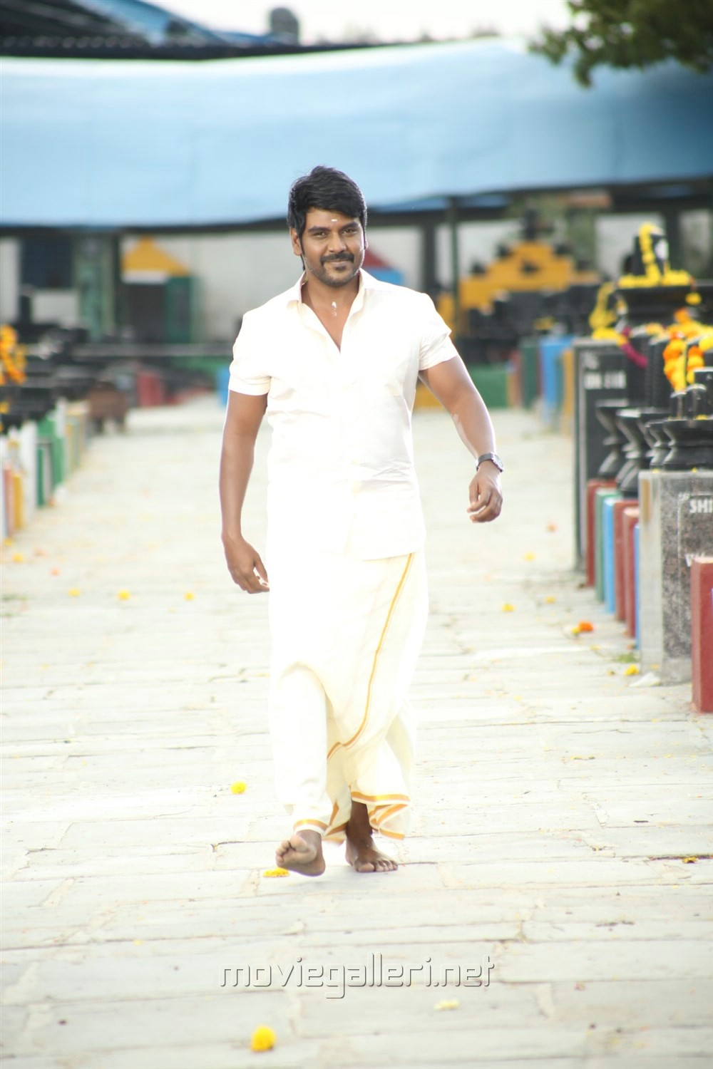 Actor Raghava Lawrence in Sivalinga Movie Stills