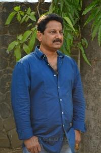 Producer R. Ravindran @ Shivalinga Movie Press Meet Stills