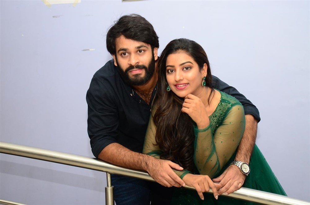 Sai Teja, Taruni Singh @ Shivan Movie Teaser Launch Stills